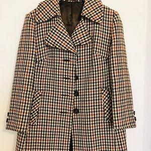 Jackets & Blazers - Louisodec Vintage Houndstooth Peacoat